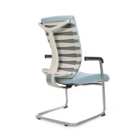 Staff Chair MOTION-001C-WH
